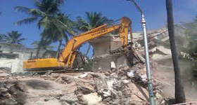 Building Dismantling scrap