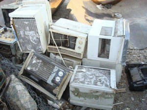 Old Air Conditioner Scrap